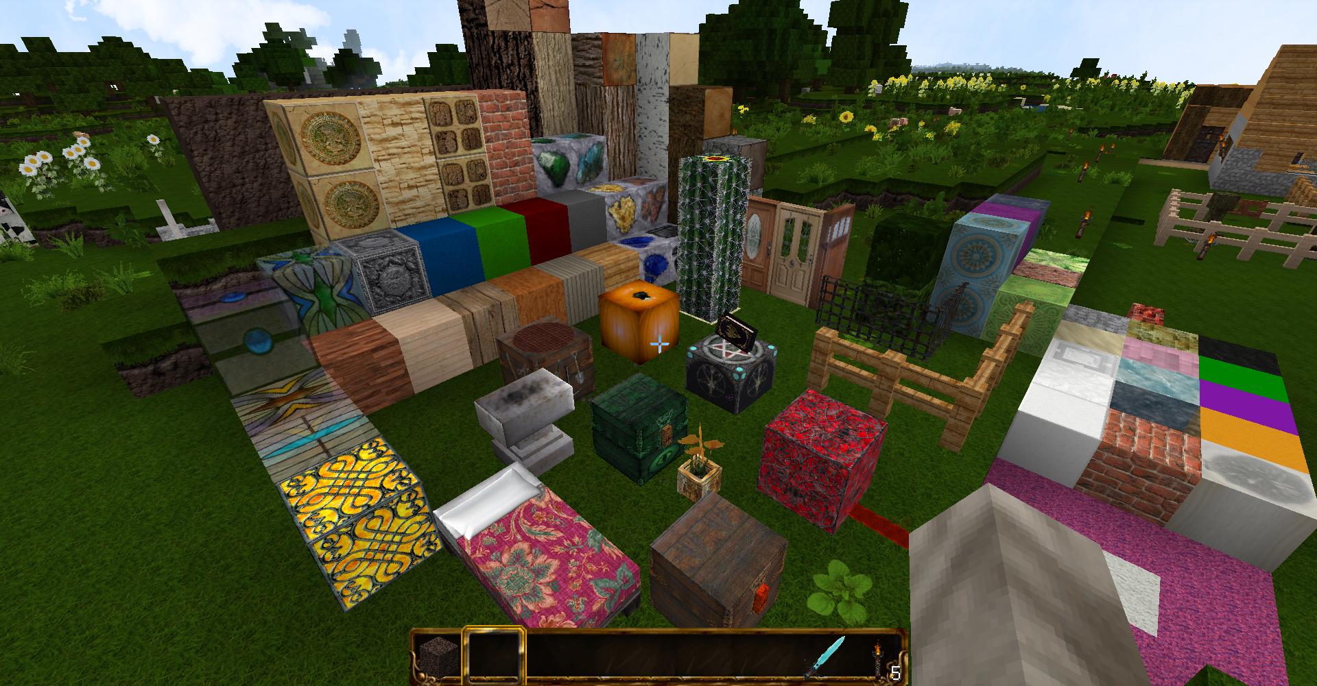 【MOD】大容量な鉱石バックパック!『Deep Pockets』【Minecraft】 | れねんクラフト